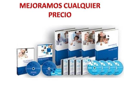 padres10. salud infantil 4t + 1 dvd + 4 cd +1cd-rom oceano