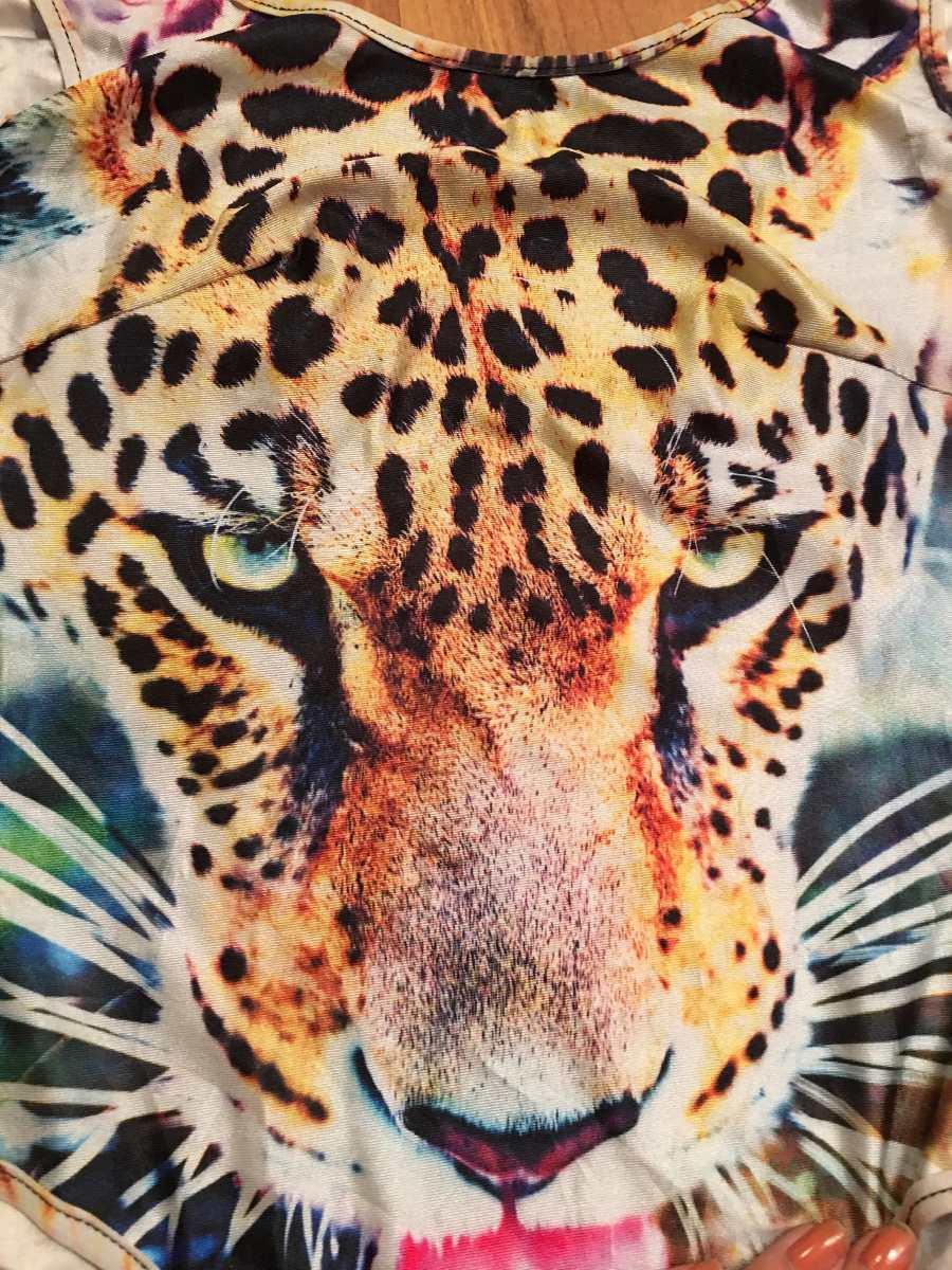 Padrisima Blusa Bodysuit Completo Tigre 100 Original
