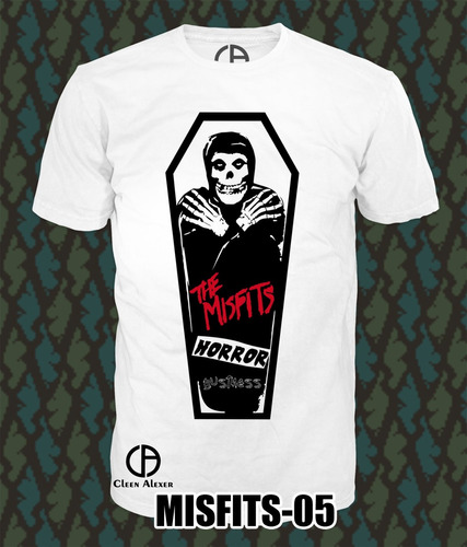 padrisimas camisetas y  blusas  rock  misfits**100% nuevo**