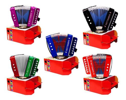 padrisimo acordeon profesional para niños varios colores wow