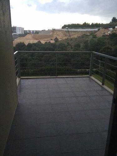 padrísimo departamento en venta en bosque real con terraza