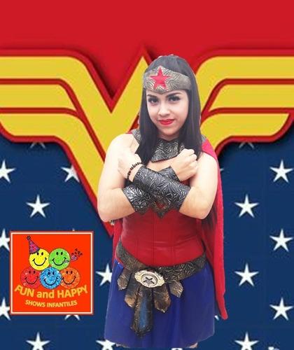 padrisimo show de superheroínas