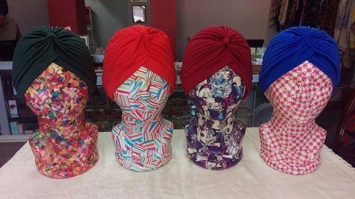 padrisimos turbantes retro 8 colores negro rosa turbante