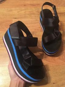 Padrisimos Sandalias Orig Zara Zapatos Plataformas Negras wO0Pk8n