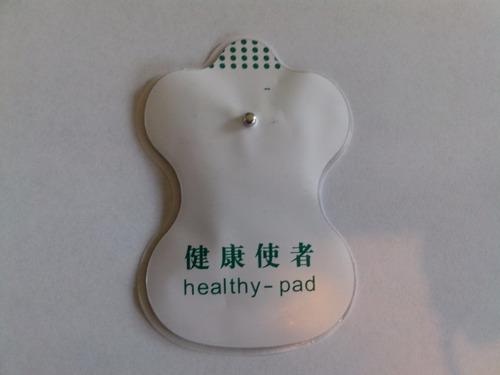 pads ,almohadillas para tens y ems , incluye cable 2.5mm