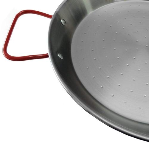 paella de acero carbono garcima 10 pulgadas, 26cm