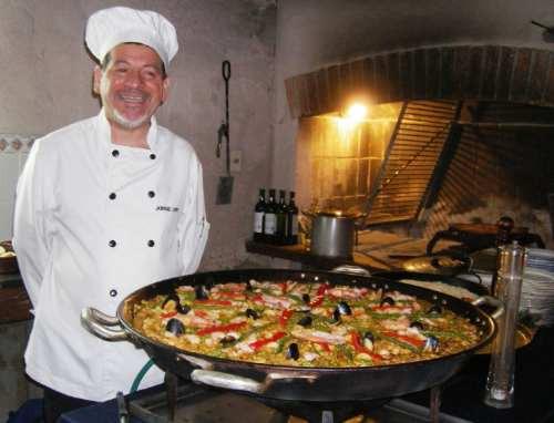 paella strogonof show de pastas chivitos pizza carnes sushi