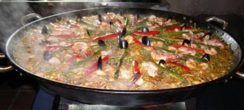 paella strogonof show de pastas chivitos risottos carnes
