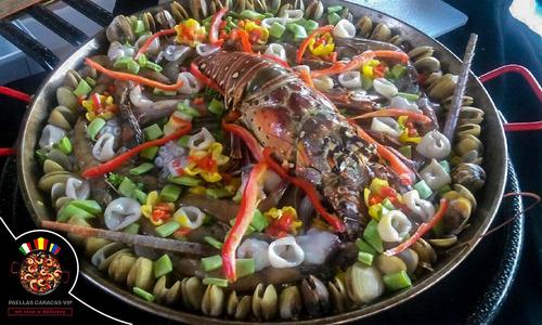 paellas en vivo o delivery chef a domicilio eventos fiestas