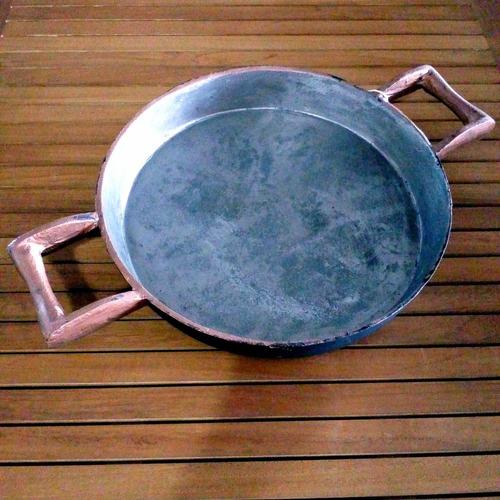 paellera en fundición de hierro filfer 37cm