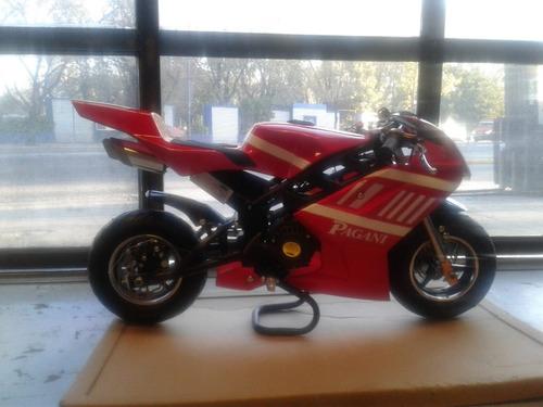 pagani mini moto pista 49 cc