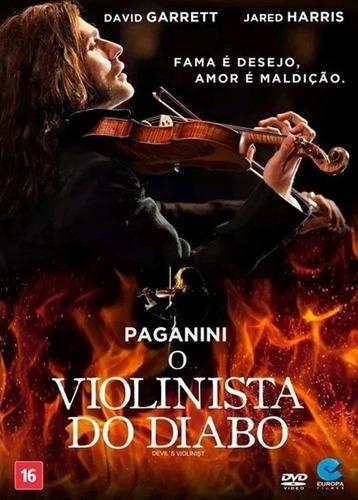 paganini  o violinista do diabo - dvd - david garrett - novo
