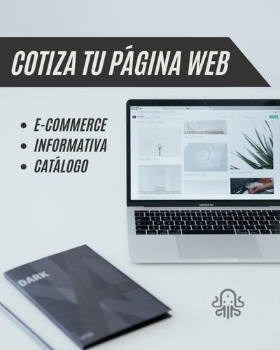 página web a tu medida y presupuesto