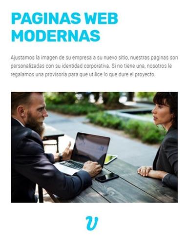 pagina web adaptable economica empresas diseño web
