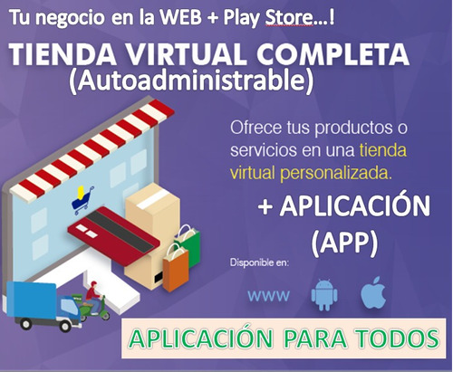pagina web + aplicacion movil (android / ios)