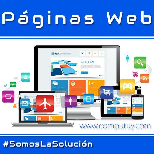 página web autoadministrable logo profesional tienda virtual