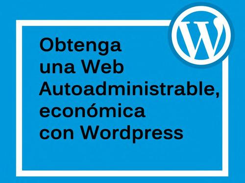 pagina web con tienda online autoadministrable carrito