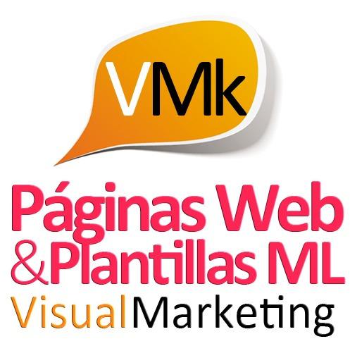 pagina web, diseño de plantillas ml, diseño de paginas web
