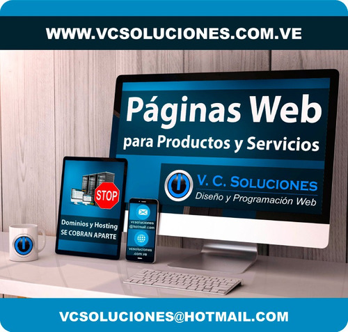 página web diseño, informativas, tiendas vituales, wordpress