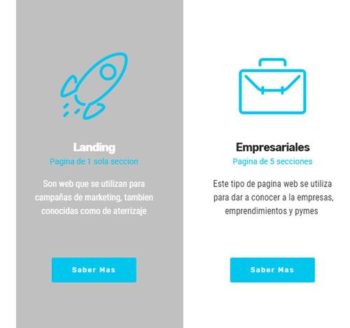 página web diseño web hosting ecommerce tienda carrito