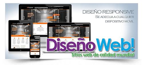 pagina web, hosting,dominio,apps android e ios, tienda only