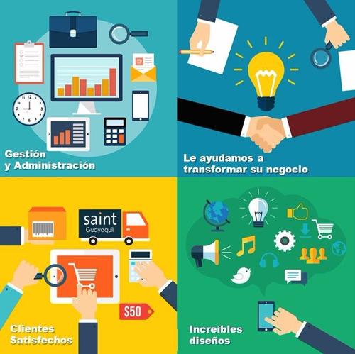 pagina web / marketing redes sociales
