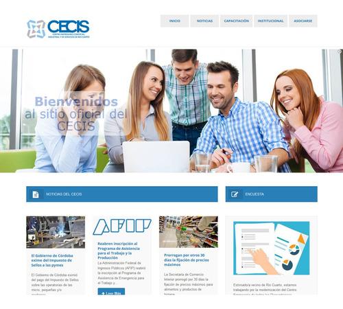 página web o tienda virtual - autoadministrable en wordpress