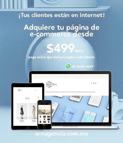 página web para ventas online