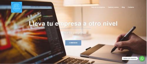 pagina web profesional para empresas