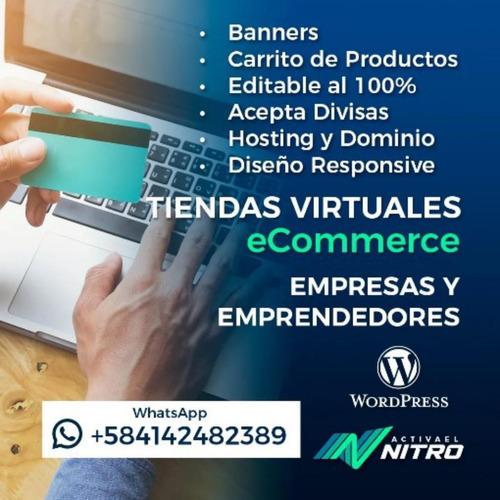 pagina web profesional wordpress seo tienda ecommerce