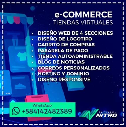 pagina web profesional wordpress tienda virtual seo redes