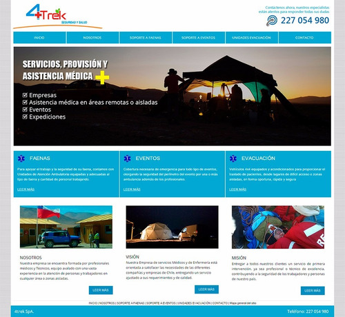 página web pyme desde $45.000 anual incluye hosting y correo