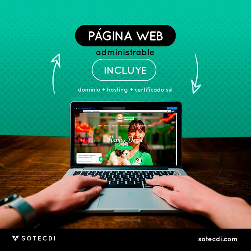 página web - sistema para empresa o negocios - aula virtual