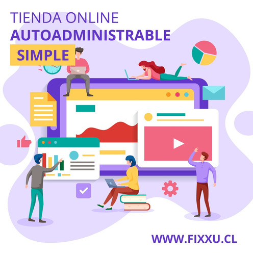 página web - tienda online autoadministrable