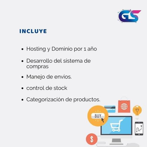 pagina web - tienda virtual