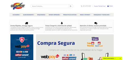 página web webpay plus webservice tienda virtual seo google