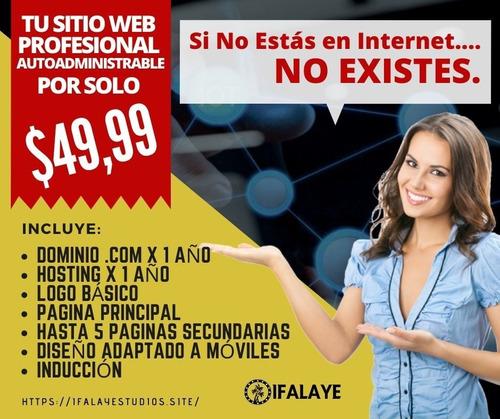 página web wordpress tienda virtual online autoadministrable