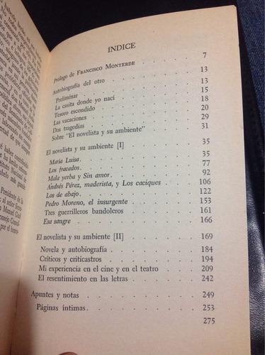 páginas autobiográficas-mariano azuela