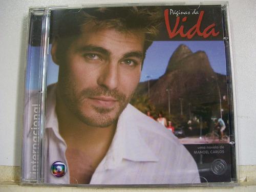 páginas da vida t. sonora internacional novela 2006 cd orig