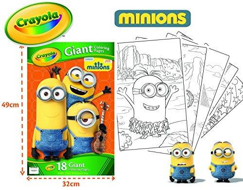 Paginas De Crayola Giant Color - Minions - $ 106.599 en Mercado Libre