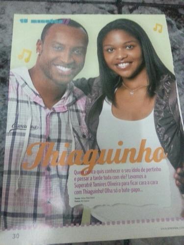 paginas de revista cantor thiaguinho