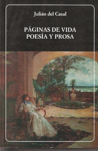 páginas de vida poesía y prosa, julián del casal °