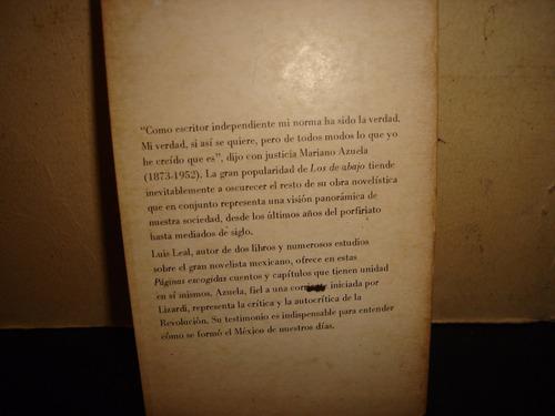 páginas escogidas - mariano azuela