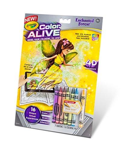 Páginas Para Colorear De Crayola Color Vivo Acción - Bosque ...