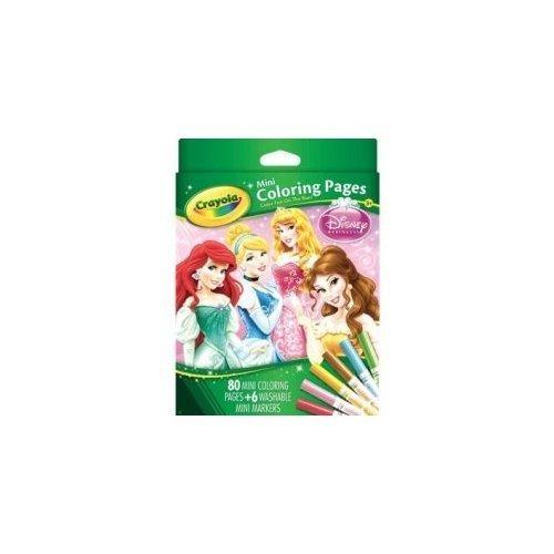 Páginas Para Colorear De Crayola Mini, Disney Princess 80 Ct ...