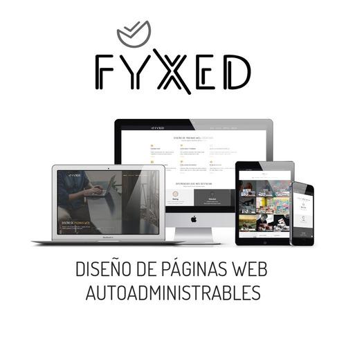 páginas web autoadministrables. hosting & dominio gratuito.