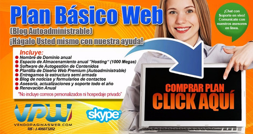 páginas web básicas, páginas web autogestionable wordpress