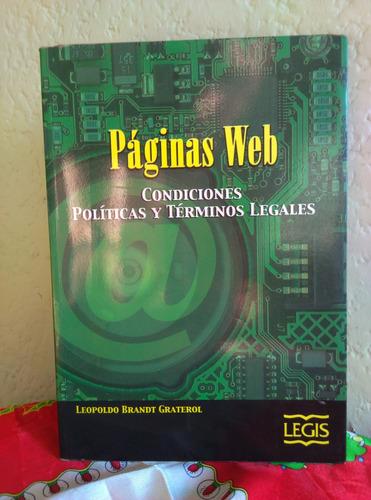 páginas web: condiciones políticas y términos legales
