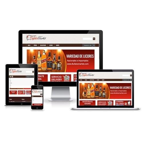 páginas web, diseño de tienda virtual+hosting+dominio .ve