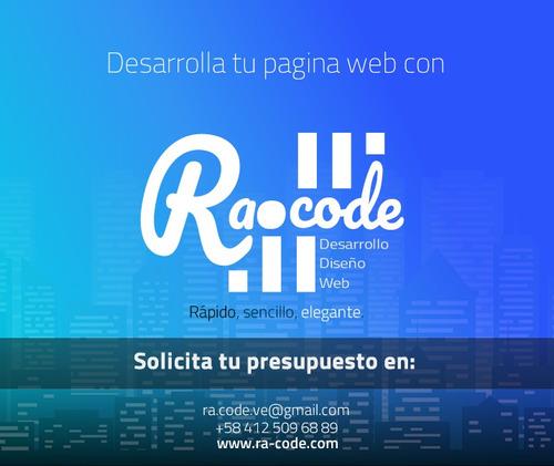 páginas web diseño gráfico desarrollo web tienda virtual
